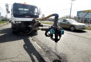Pothole Killer Truck