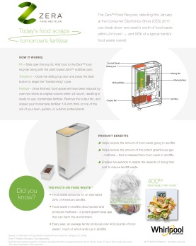 ZERA-FoodRecycler_Factsheet_120516